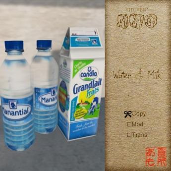 :: Kitchen AMO :: Water & Milk