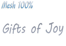 T-3D Creations [ Gifts of Joy ] MESH - Full Perm -