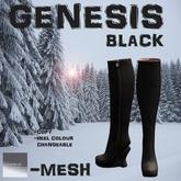 "[ AHN-JI ] ""GENESIS"" BLACK"