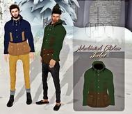 CREDO - 'Mackintosh Clisham Jacket' Forest Green/Brown