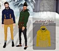 CREDO - 'Mackintosh Clisham Jacket' Yellow/Vanilla