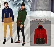 CREDO - 'Mackintosh Clisham Jacket' Red/Black