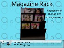 Salon - Magazine Rack --- copy/modify