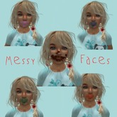 Messy Food Faces 8 Pack
