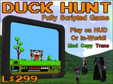Duck Hunt Game (HUD or In-World)