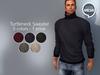 Mesh - Turtleneck Sweater - REDGRAVE