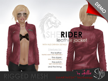 . chillie . RIDER leather jacket // DEMO (SMARTMESH)