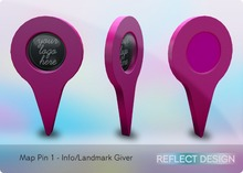 Reflect Design - Map Pin - Info/Landmark Giver
