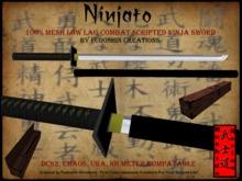Bushido Series Ninjato V1.0 - Mesh Combat Scripted Ninja Sword