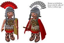 Tiny ioumane Roman officer's phalerae