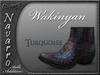 Riders Navarro Ankle Boots Add-On (Wakinyan Turquoise)