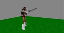 Sword with Swordfight Animation just Wear