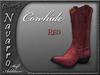 Navarro cowhide red 1