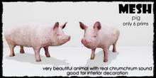 Animal Farm - Pig  6 prims only