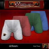 "69 Park Ave ""GQ Boxers"" Mens Underwear"