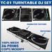 TC-01 Turntable DJ SET