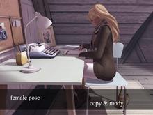 ZIPI Poses - Writing