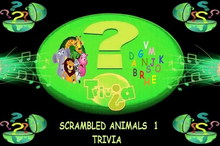 Scrambled Animals Trivia 1
