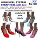 OnP high heels system 3