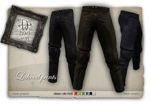 [Deadwool] Lahood pants mesh - black