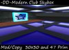 -DD- Club Skybox Structure and building 30x30 with 47 Prim with modern design BOXED
