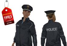 MESH POLICE WOMAN DUMMY