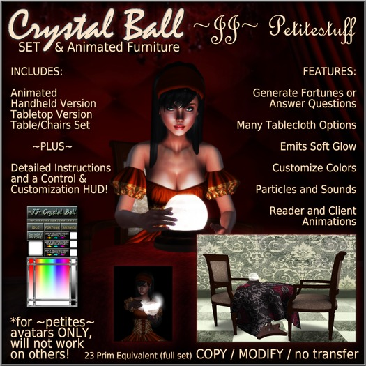 ~JJ~ Petitestuff Crystal Ball