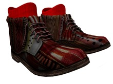 PROMO ALB PIPPIN leather boots africa MESH MEN wearable DEMO + HUD for socks by AnaLee Balut - ALB DREAM FASHION