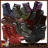 ALB WILLIAM leather boots DEMO by AnaLee Balut - ALB DREAM FASHION