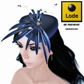 *LODE* Hat - Forget-Me-Not [exclusive blue]