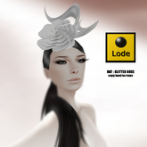 *LODE* Hat - Glitter Rose