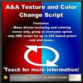 A&A Texture and Color Change Script (c+t) 2.5, boxed