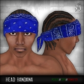 DEF! Bandana / Head / Blue