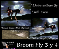 Broom Fly 3 y 4 Full Perm
