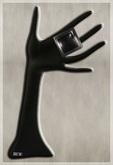 MiWardrobe - Lust Ring - Silver - B