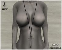 MiWardrobe - Xto Necklace - Silver - B