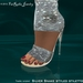 FaiRodis Silver Snake styled stiletto