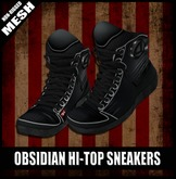 FK! - Obsidian Hi-top Sneakers