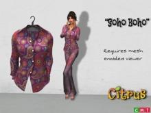 *Citrus* - Soho Boho Pure Shirt