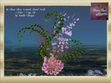 Mermaid Cave Plant ALIEN TENTACLE Floral Swirl 1prim