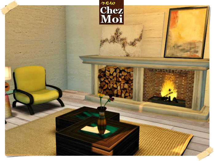 Fireplace Charlot  ♥ CHEZ MOI