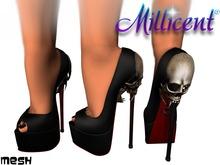 .:*Millicent*:. Skull Black