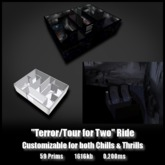 Terror Tour for Two Ride *0.050ms - 0.200ms* low lag smooth non-physics dark ride