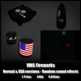 VMS Fireworks *0.050ms* Random colors and USA
