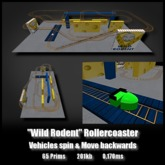 Wild Rodent Rollercoaster *0.028ms - 0.170ms* low lag smooth non-physics rotation backwards