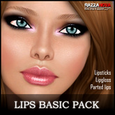 RazzaNova MakeUp - Lips Basic Pack (Lipsticks)