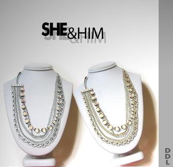 [DDL] She & Him (Silver)