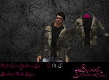 ::Sweet Intoxication: Men's Mesh Camouflage Jacket Khaki