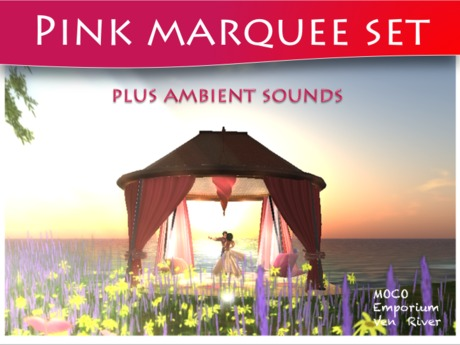 Moco Emporium - Marquee Set (Deep Pink) With Cuddles & Ambient Sounds [99L]