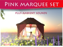 Moco Emporium - Marquee Set (Deep Pink) With Cuddles & Ambient Sounds